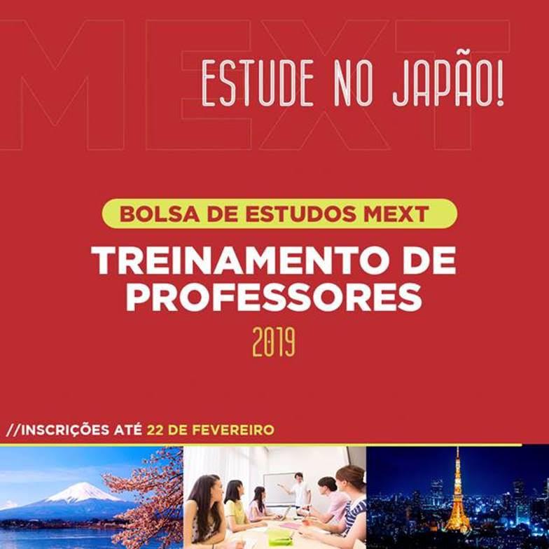 Bolsa de Treinamento de Professores do Governo Japonês