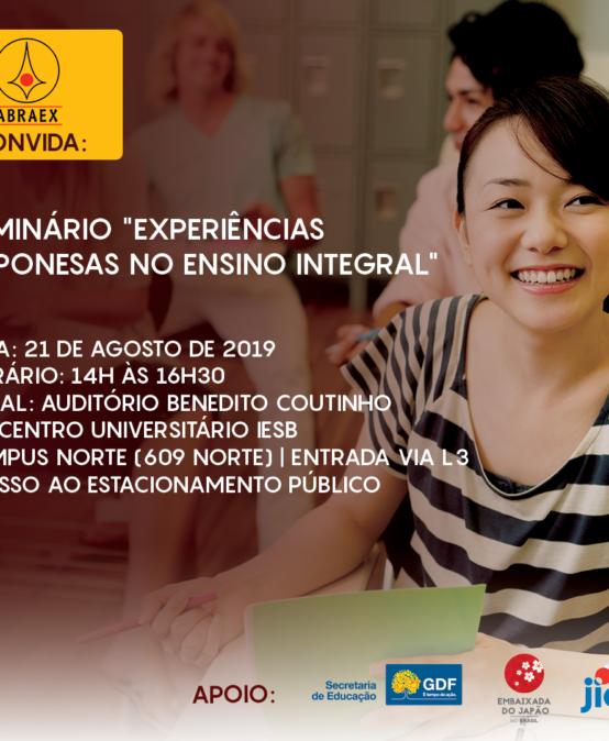 Seminário: Experiências Japonesas no Ensino Integral