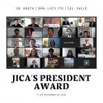 17/11/2020 – JICA's President Award